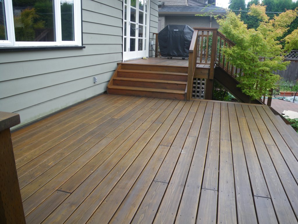 Vancouver Deck Decks Refinishing Painting