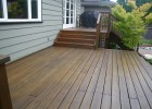 Vancouver Deck Staining ~ Careful Painting