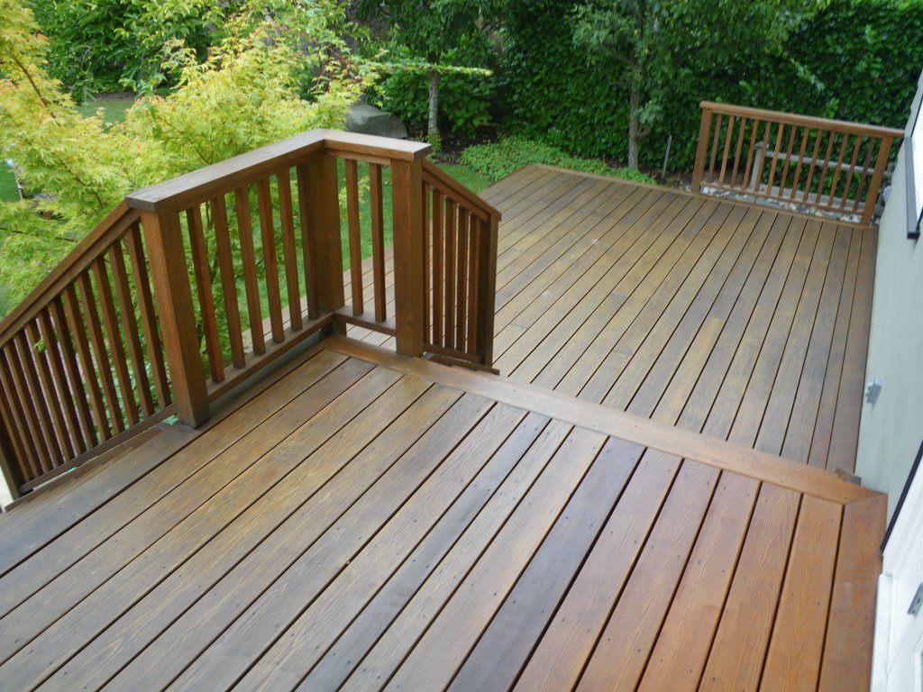 Painting An Oiled Wooden Deck