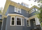 Exterior heritage House Painting in Vancouver ~ Shaugnessy.