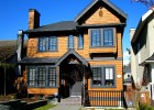 Exterior Wood Staining & Painting ~ Point Grey House Painting
