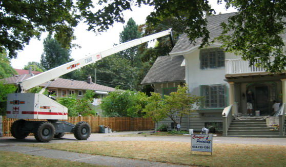 Exterior Painting Vancouver House Painters Contractors Careful Painting Vancouver