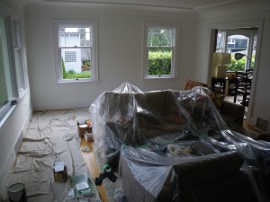 Interior Painting in Vancouver -West Point Grey Nov. '12