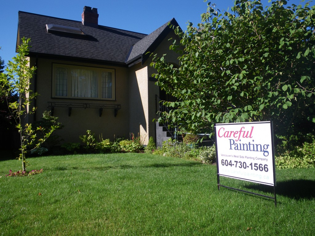 Vancouver Painting ~ Exterior Painting Season Approaches