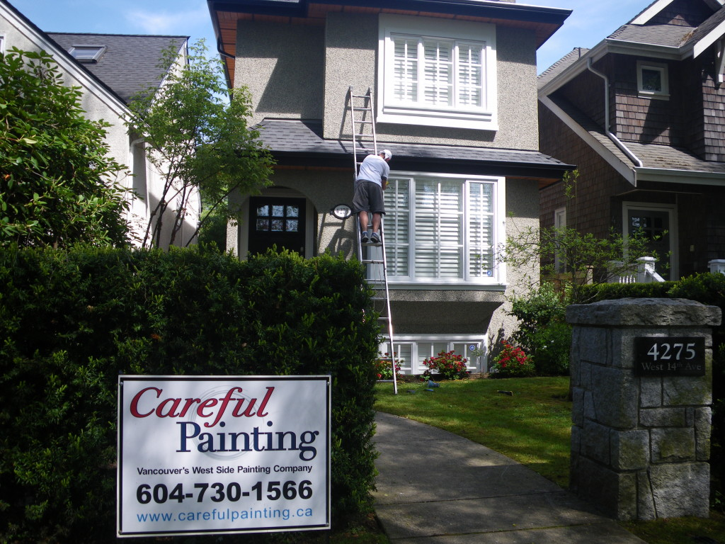 Vancouver Exterior painting.