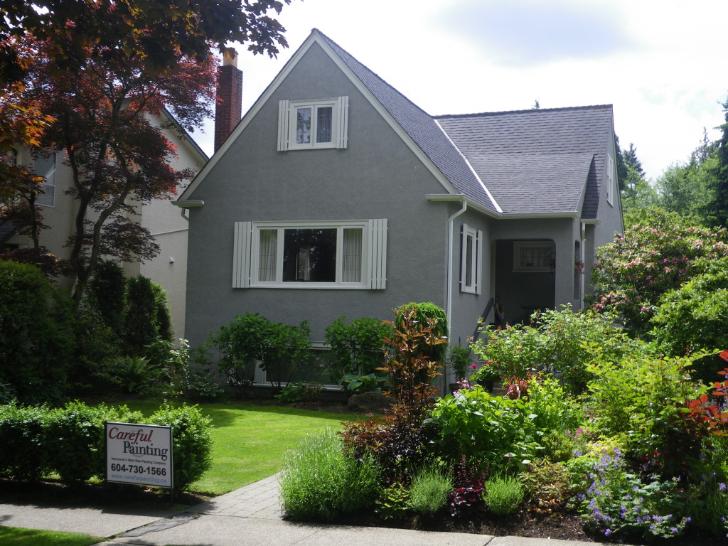 Vancouver's West Side Painting Company ~ Careful Painting completed another high quality painting project in Point Grey