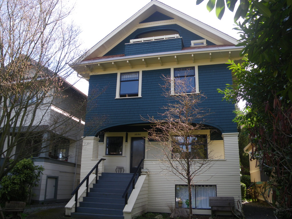 Vancouver Heritage Painting - True Colours Grant