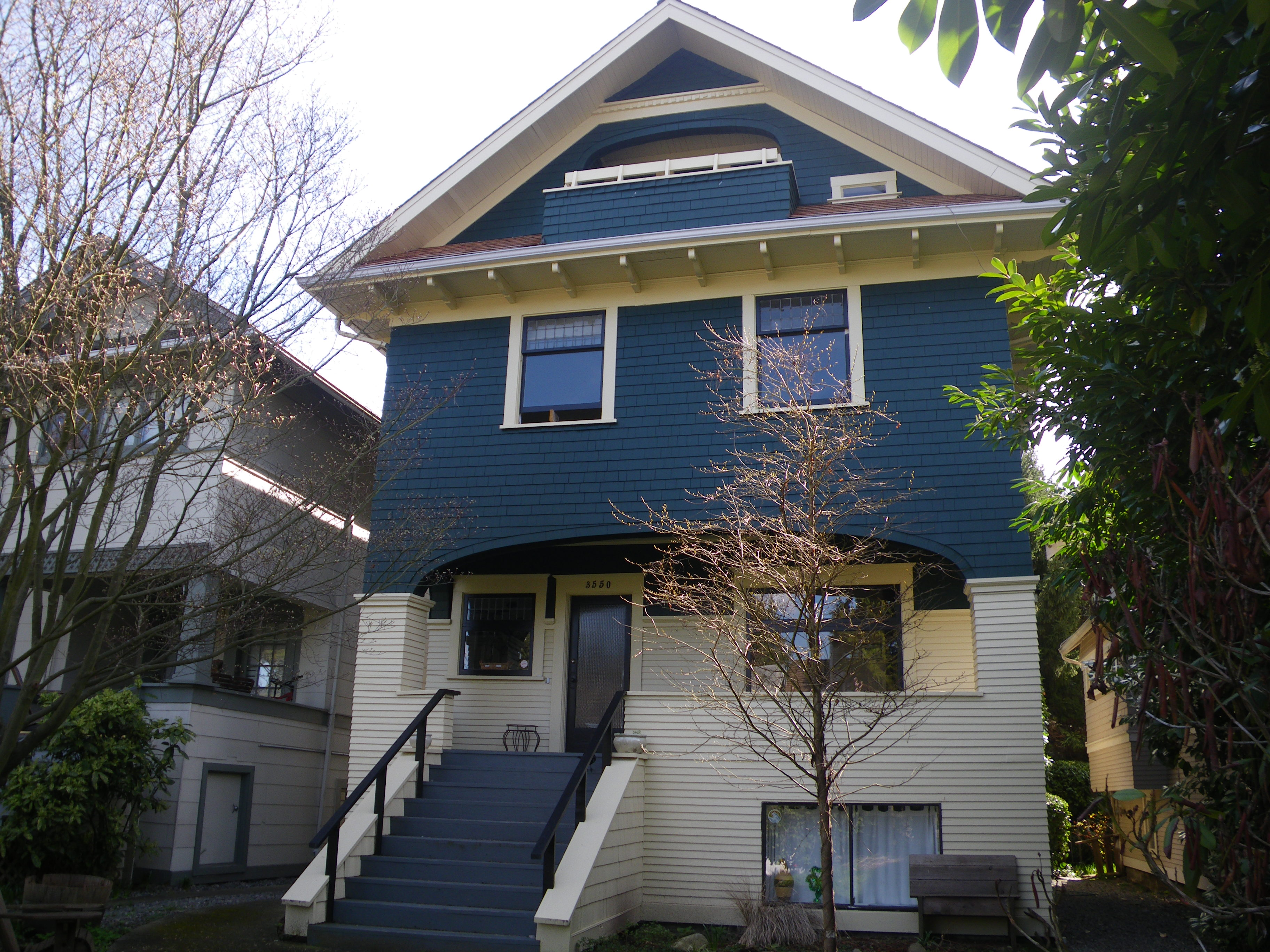 vancouver heritage house painting exterior house painting careful painting vancouver